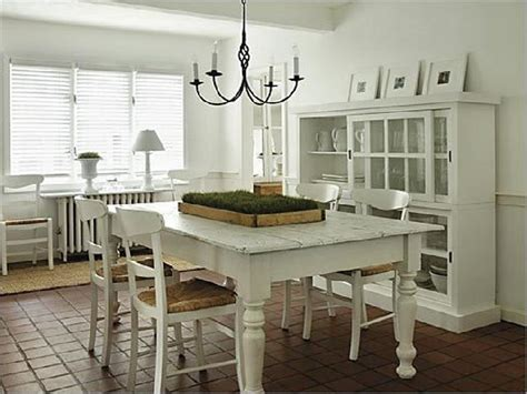 painted dining room table