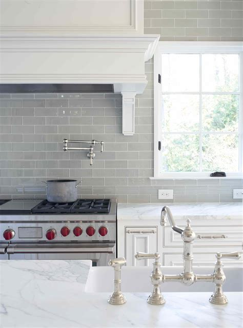 light gray subway tile backsplash mid century remodel l kae interiors