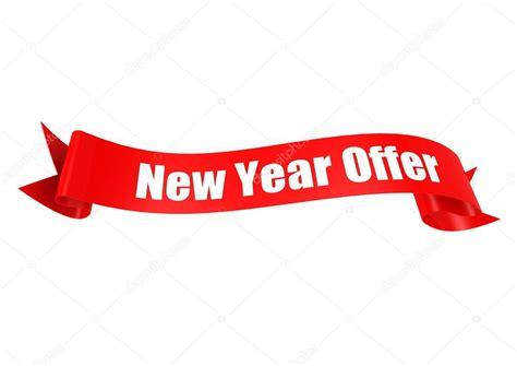 new year ribbon new year offer ribbon stock photo 169 tang90246 34451715