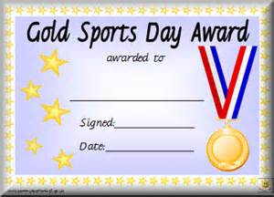 Free Sports Certificate Templates Awards