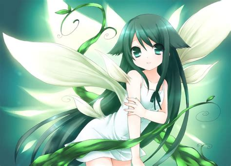 anime imagenes big anime girls long hair big eyes anime look wallpaper
