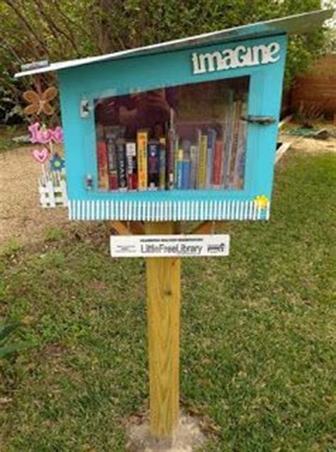 front yard library free library i so want one of these in my front