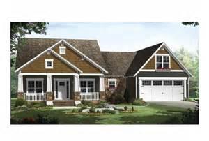 One Story Craftsman Style Home Plans Craftsman Style Single Story House Plans