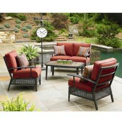 better homes furniture patio furniture cushions better homes and gardens type