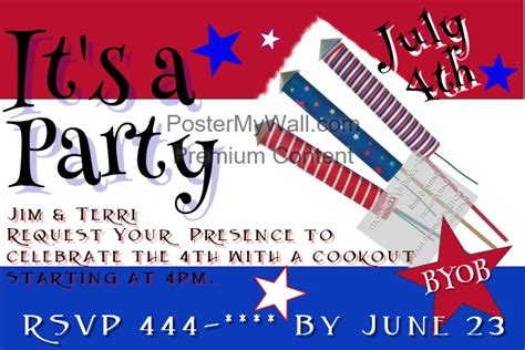 4th Of July Postcard Template 4th of july postcard template postermywall