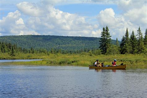 canoe kayak quebec lake escalier canoe quebec