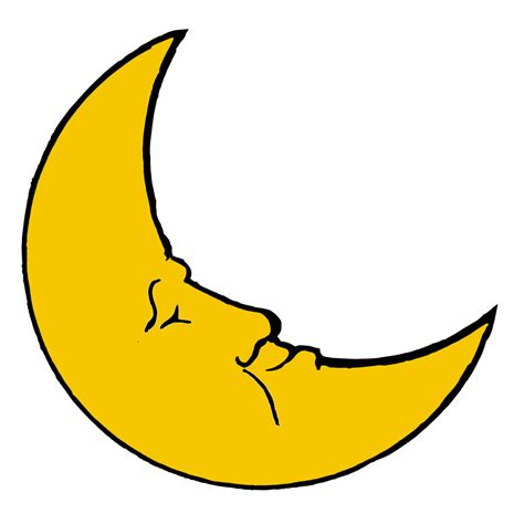 moon clipart best moon clipart 4535 clipartion