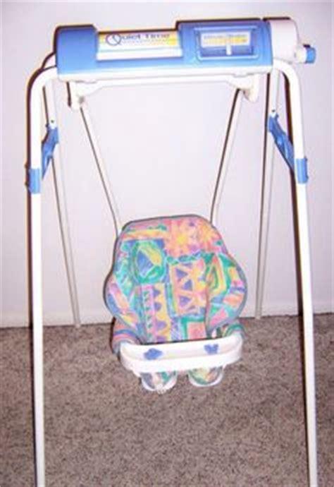 crank baby swing vintage graco swingomatic wind up crank infant baby swing
