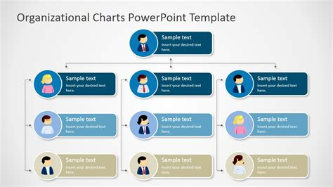 powerpoint organizational chart template animated org chart