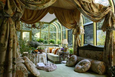 winter home design tips elegant winter garden with rich interior decor