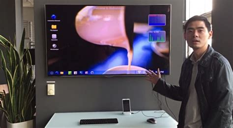 show android screen on pc this 35 dock lets you use your android smartphone as a fledged desktop extremetech