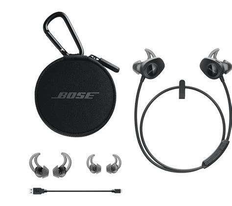 Bose Soundsport Free True Wireless Earphone Black Buy Bose Soundsport Wireless Bluetooth Headphones Black