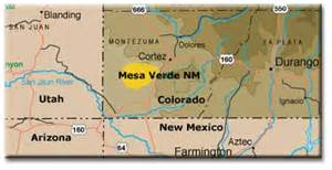 mesa verde colorado map mesa verde national park after