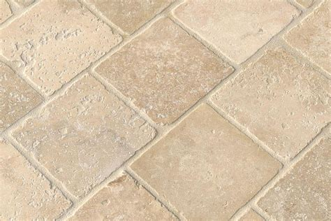 travertine tile finishes and edge treatments