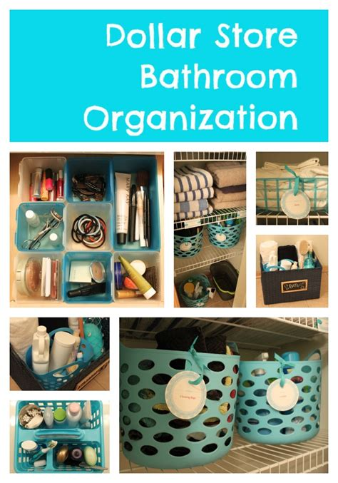 dollar store organization 30 diy storage ideas to organize your bathroom