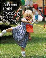 abnormal child psychology mindtap course list books abnormal child psychology book by eric j mash phd 0