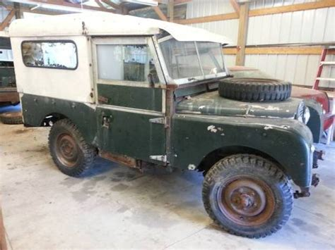 land rover series 1 hardtop 1600 1955 land rover series 1 86 bring a trailer