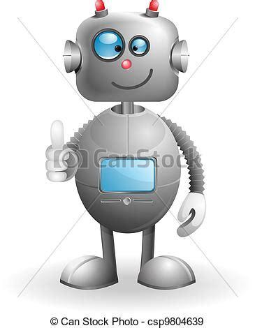 imagenes de robots kawaii vettori eps di cartone animato robot c 217 te cartone