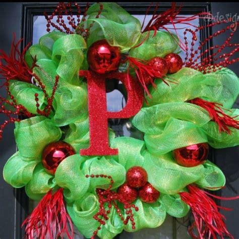 christmas deco mesh ribbon