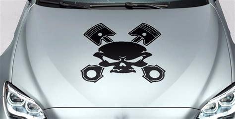 Sticker Motor Decal Nmax Skull 30 22 product skull piston crossbones vinyl decal sticker for car track wrangler fj etc