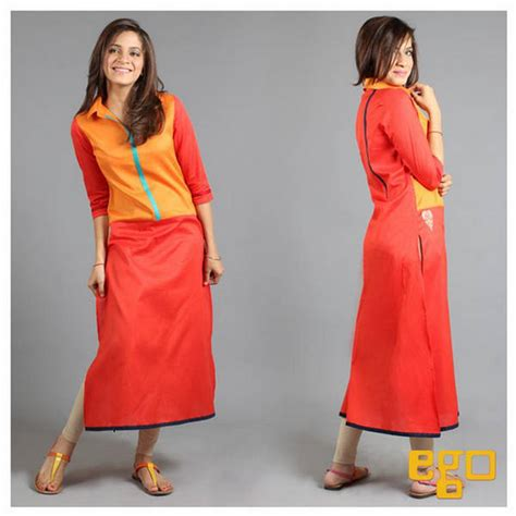 dress design ego innovative winter wear dress collection offered by ego