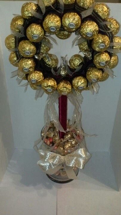 ferrero rocher wedding centerpiece inspiring ideas candy centerpieces chocolate bouquet diy