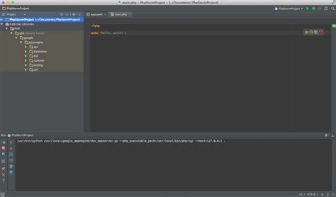 getting started with phpstorm as google app engine php ide php phpstorm with google app engine stack overflow
