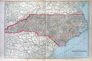 large map of carolina large map of carolina us state map large 1901