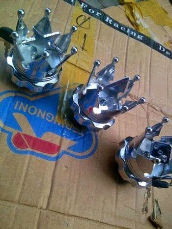 Hanonlineshop Tutup Gelas Stainless 015 sparepart khusus cb bursa classic indonesia