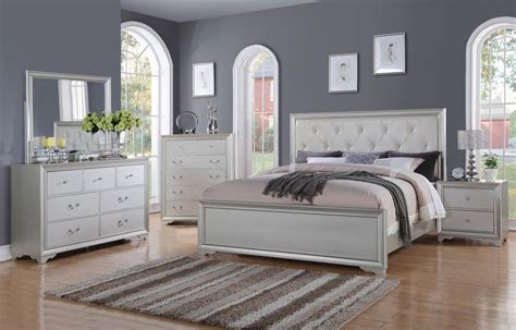 Silver Bedroom Set by Silver King Size Bedroom Set Sophisticated Silver