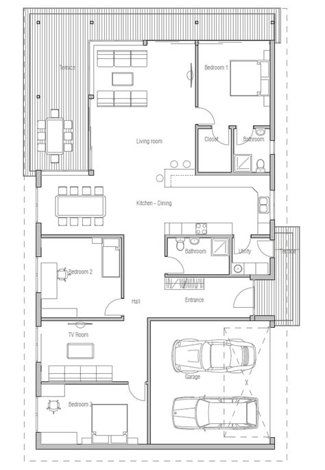 new home floor plans for 2013 contemporary home plan ch169 floor plans and info house plan