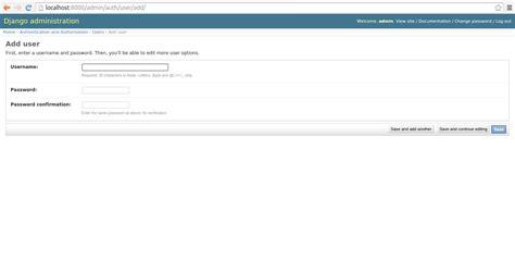 creating django user introduction to the django user system