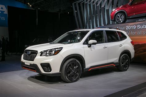 2019 Subaru Forester Sport by 2019 Subaru Forester Look Ready For The Cr V And
