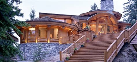 luxury log cabin home designs home design and style
