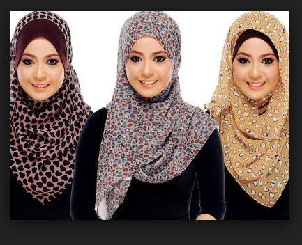 Pashmina Dan Square Jilbab Segi Empat 1 cara memakai kreasi modern modis cantik terbaru fahriemje