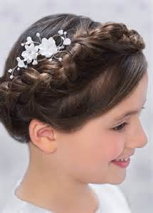 hairstyles for communion communion dresses for girls girls communion tiara