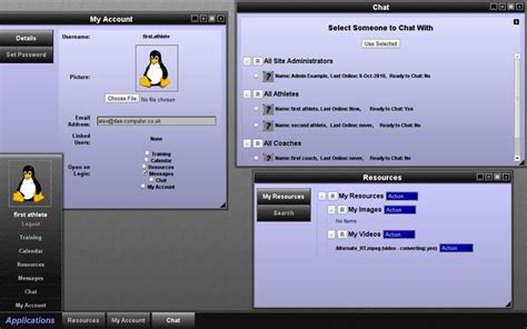 desktop application layout design web applications interactive websites database
