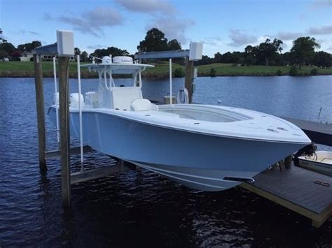 used 36 ft yellowfin boats for sale used quot 2015 36 ft yellowfin center console quot hmy yachts