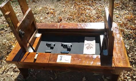 coffee table with gun storage coffee table with storage used to conceal handguns