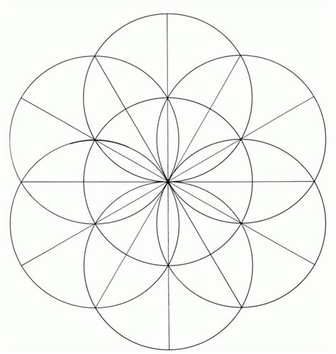 symbol pi of ancient times sacred geometry coloring home