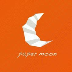 Fold Paper Moon - 1000 images about paper fold logos on logos
