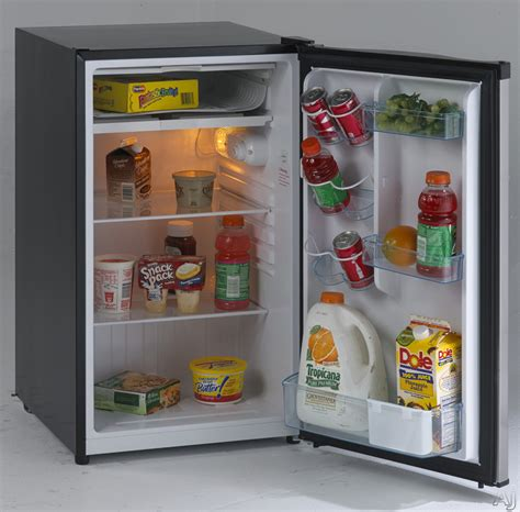 avanti rm4436ss 4 4 cu ft compact refrigerator with 2