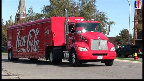 kenworth coca cola truck  youtube