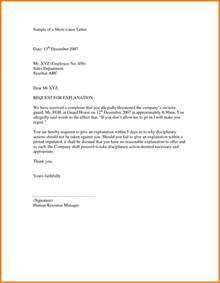 Resignation Letter With Explanation by 5 How To Write Explanation Letter Quote Templates