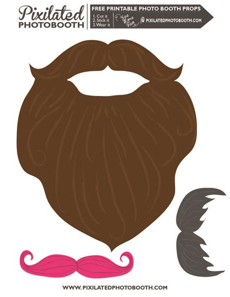 15 printable mustache templates and photo booth props 81 best photo booth props images on pinterest photo