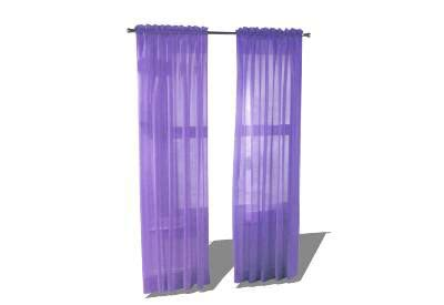 drape sketchup sketchup components 3d warehouse curtains purple curtains