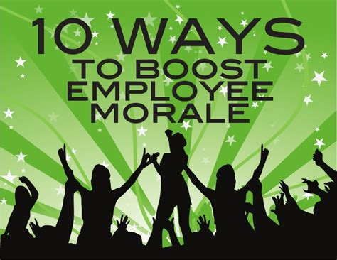 Search Morale 10 Ways To Boost Employee Morale