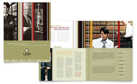firm brochure template lawyer firm brochure template design