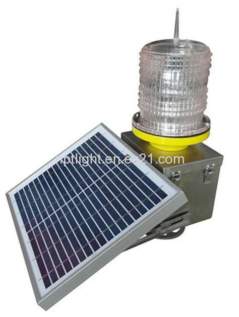 Led Light Solar Aviation Light Obstruction Light Warning Solar Obstruction Light