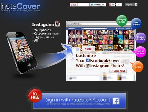membuat cover facebook online facebook cover instagram